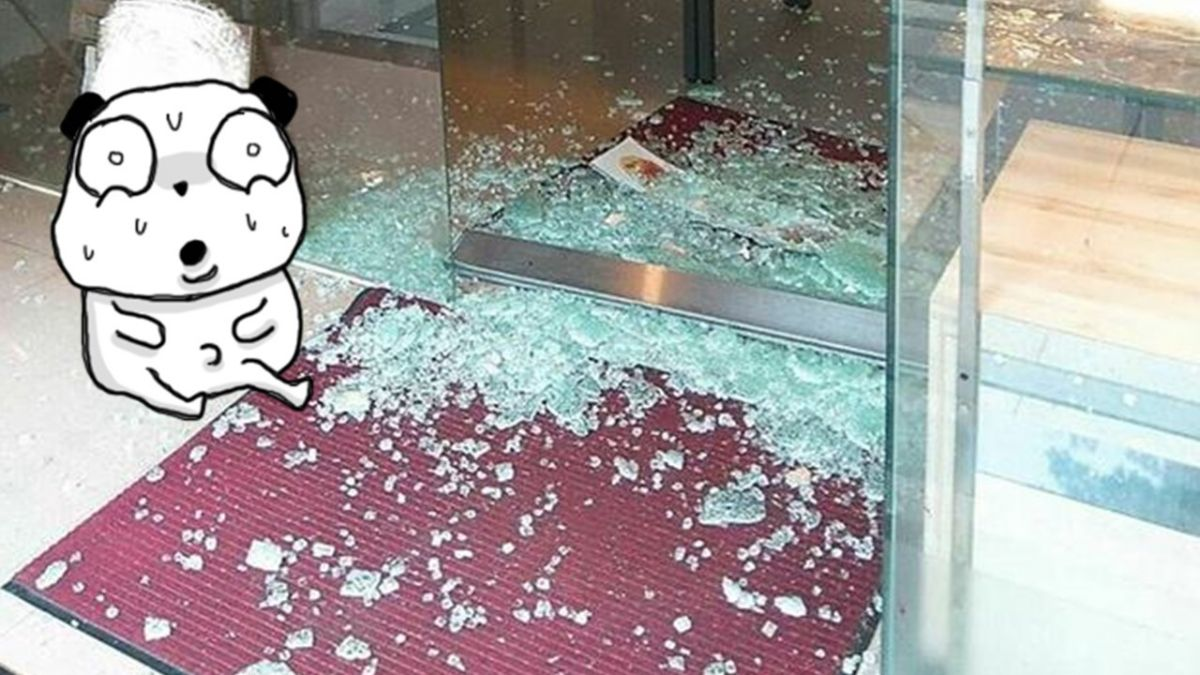 以為老闆娘吃素?奧客砸奶茶爆全身 害隔壁店玻璃碎滿地