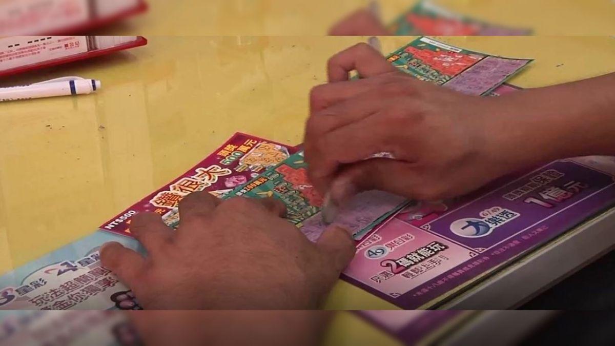 中獎運差「改用騙的」 偽造刮刮樂賺9500元