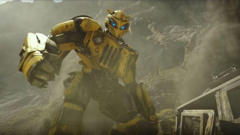 電影大黃蜂預告片出爐 重回復古金龜車造型