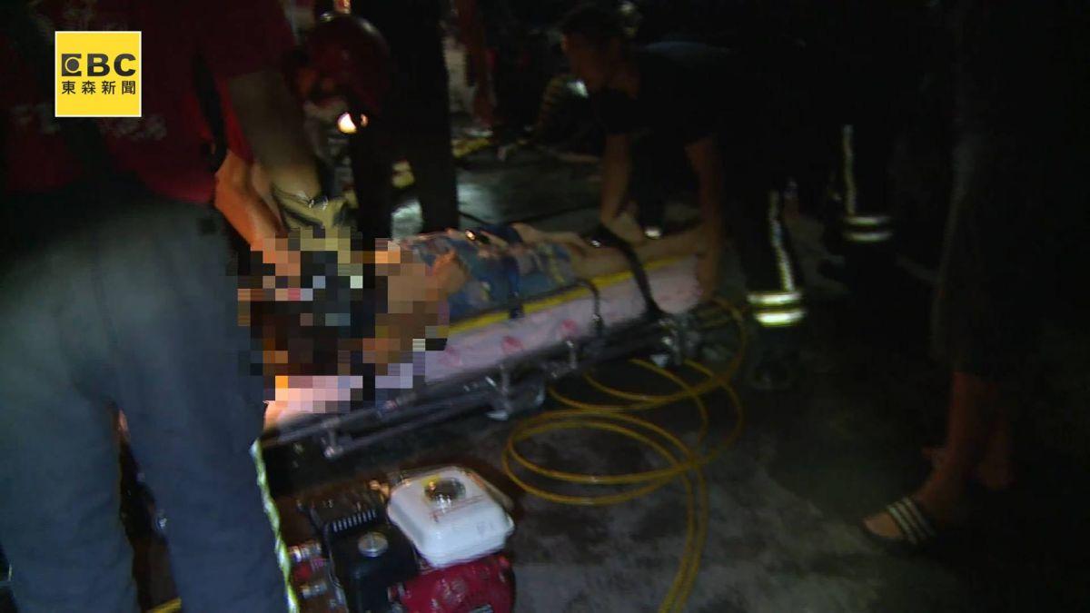 超車失速撞騎樓釀3傷 兩歲童當場無生命跡象
