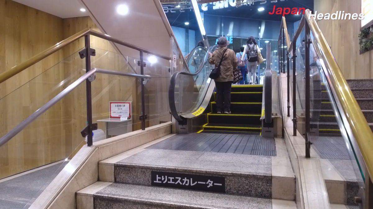 手扶梯有玄機!日百貨公司隱藏世界紀錄景點