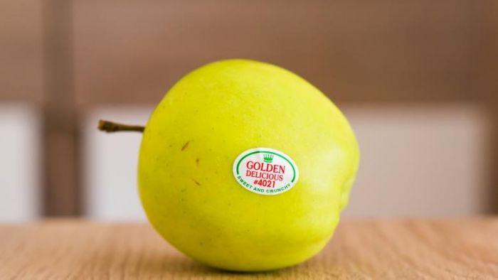 你看得懂嗎?水果上的小貼紙藏玄機 「這2碼」代表有農藥