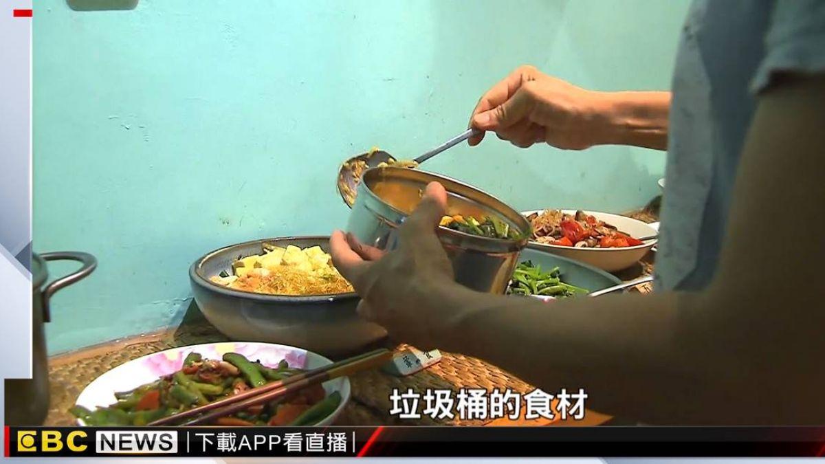 不捨浪費食材 七年級生創辦剩食廚房救醜蔬果