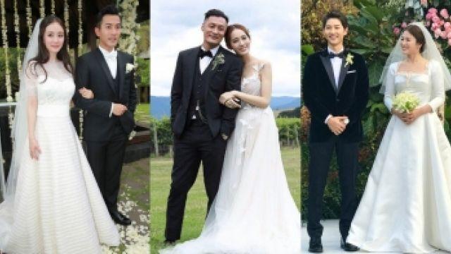宋慧喬、徐若瑄結婚這樣穿!亞洲女神經典婚紗特輯