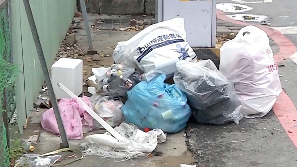 路口監視器新用途 南環保局開罰亂丟垃圾