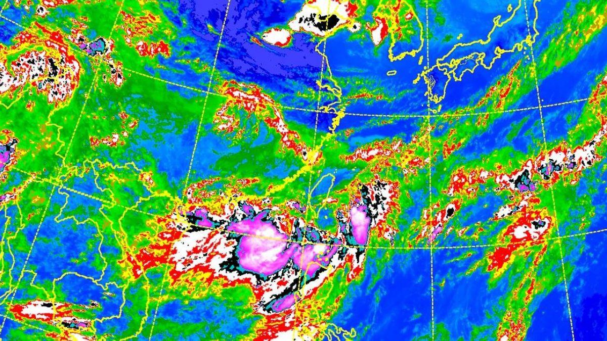 致災暴雨呢? 這張圖告訴你台灣有多幸運