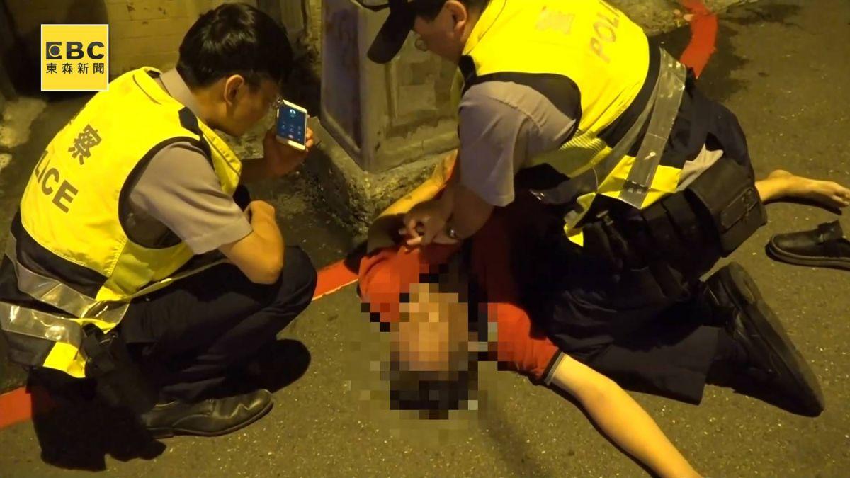 男沒心跳 離奇倒路邊 勇警做200多下CPR 仍不治
