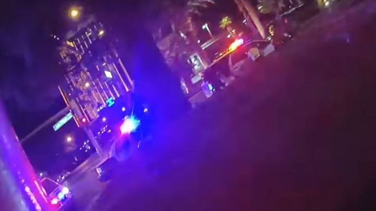 賭城槍擊案攻堅畫面釋出 武裝警察破門氣氛緊張