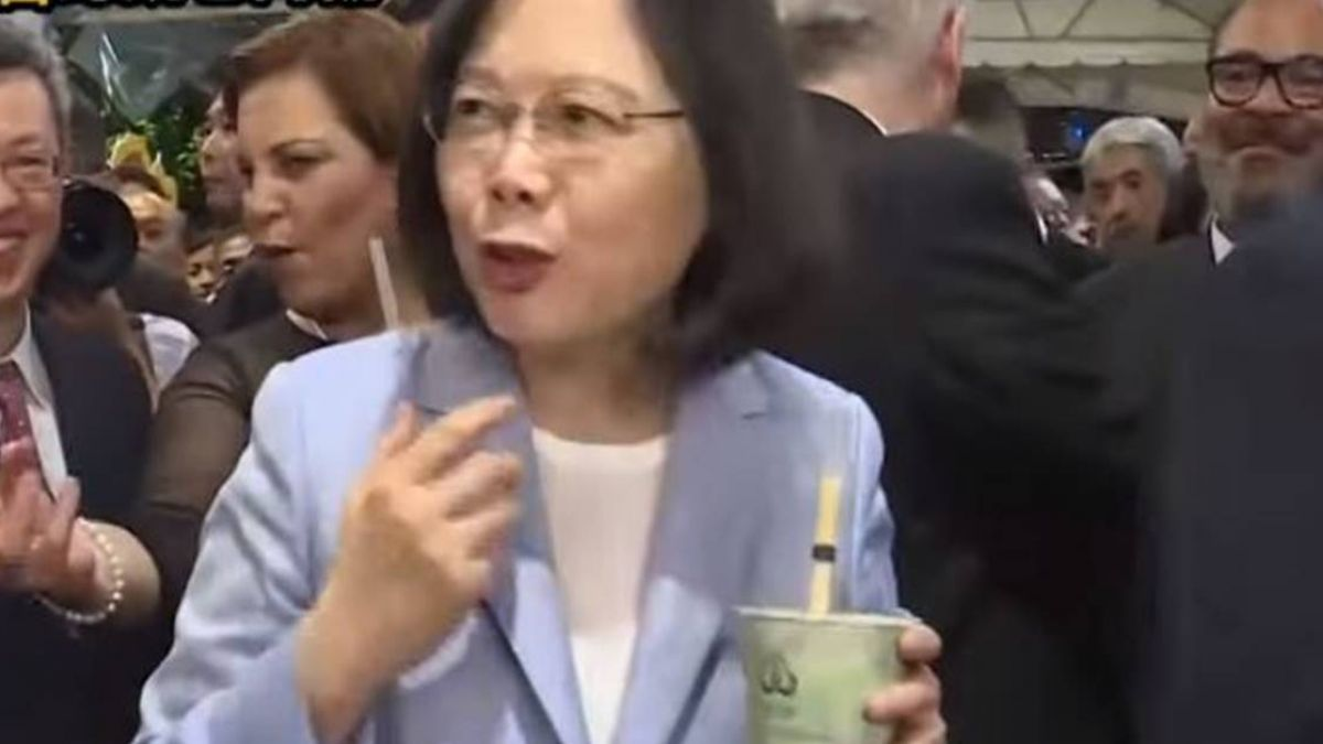 官員「湯匙喝珍奶」挨批 蔡英文:官員發言應謹慎