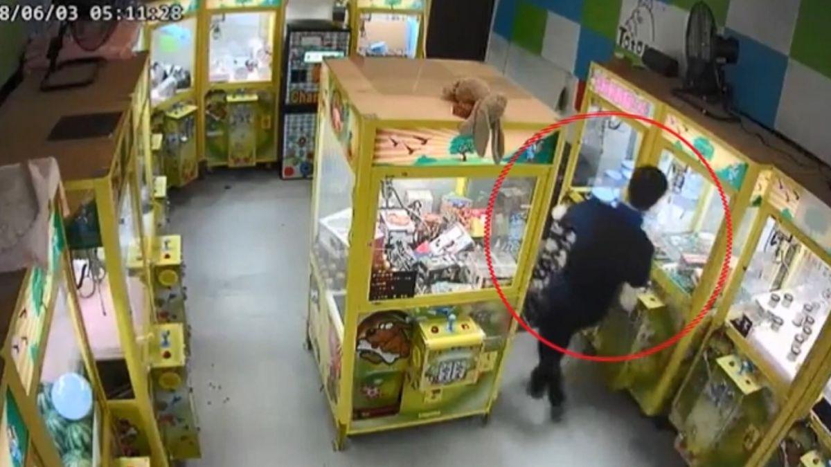 就愛海螺!榔頭砸娃娃機 犯罪集團從台中偷到台南