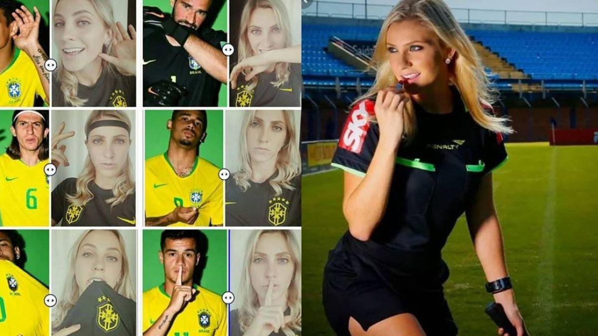 巴西辣模變超正足球女裁判 本屆世足首亮相