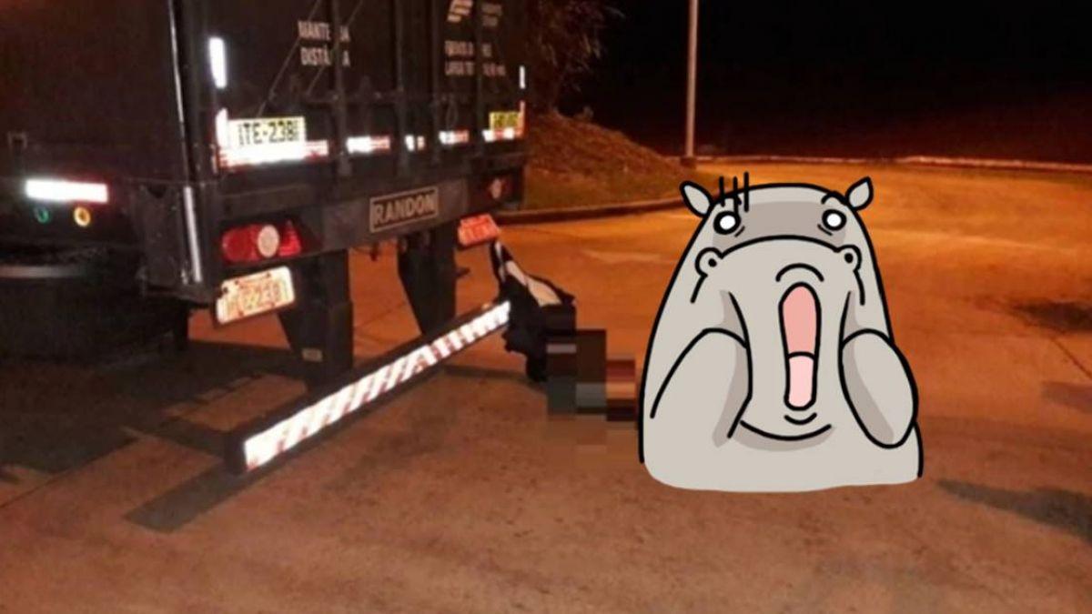 卡車後垂掛異物…近看竟是一個人!左小腿遭拖行磨爛反折慘死