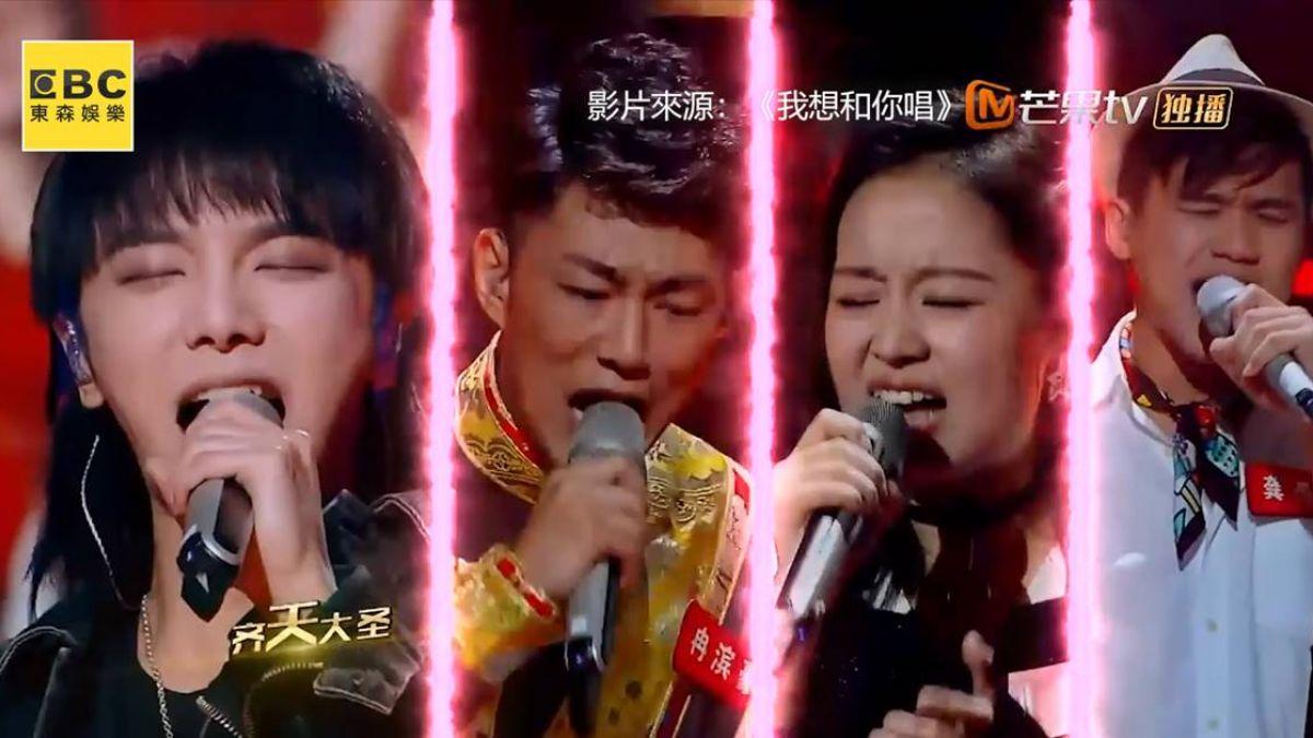 華晨宇呆萌返場《想唱》 和素人歌手炸裂高歌燃沸舞台