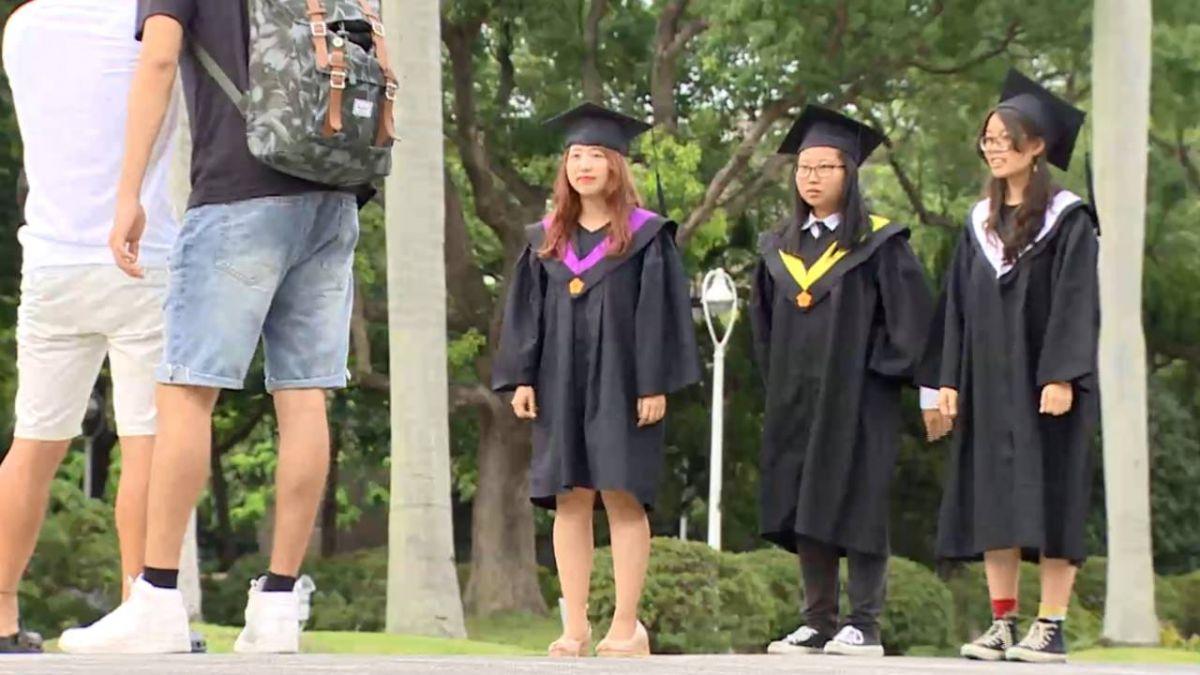 不想畢業!大學延畢生總數、比率創歷年新高