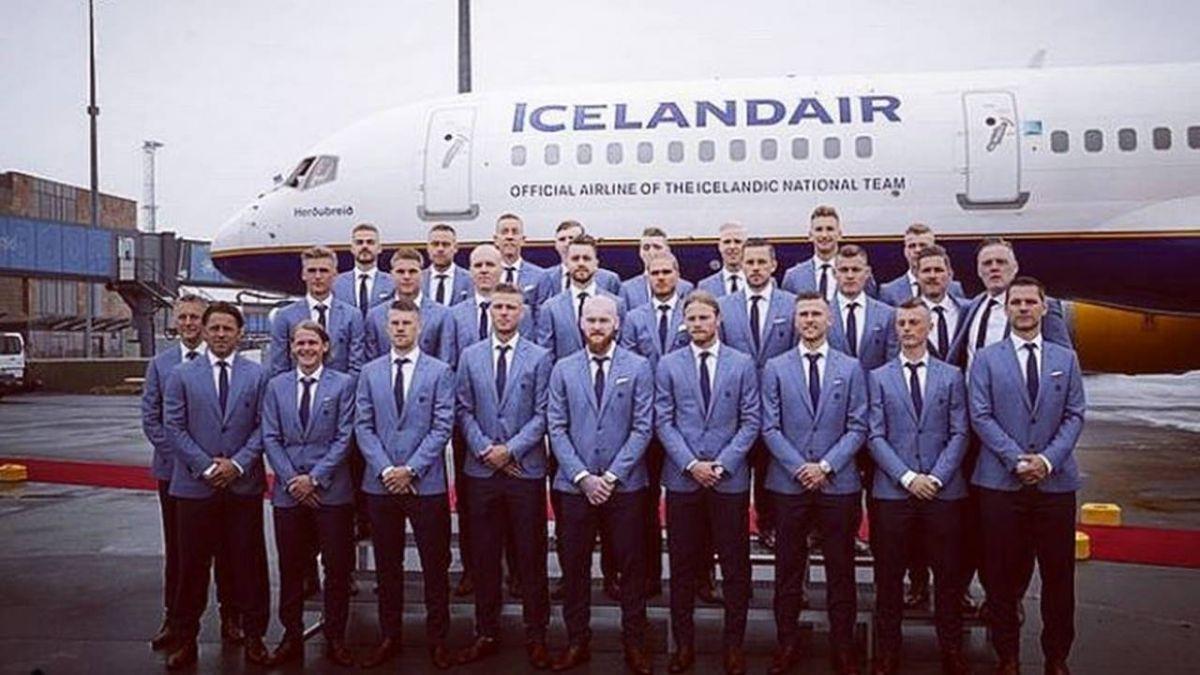 超有梗!冰島隊不只會踢球 加練「花式」慶祝