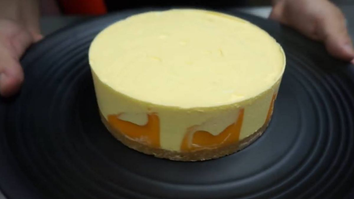 夏日必吃芒果生乳酪蛋糕!免烤箱輕鬆端上桌