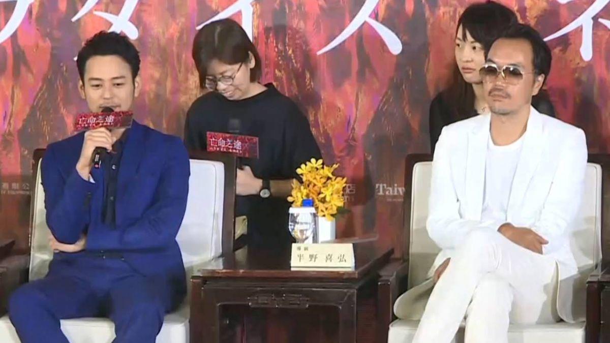 妻夫木聰、豐川悅司來台 拍電影《亡命之徒》