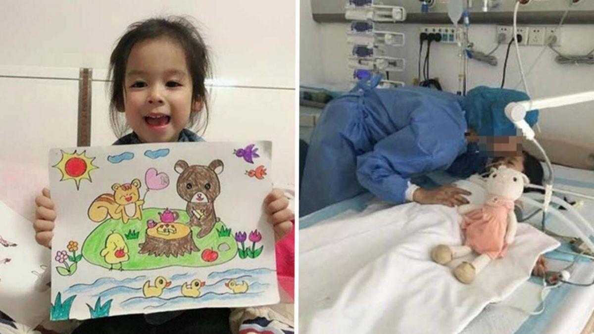 4歲女童病逝 生前和媽媽打勾勾:器捐救其他小朋友