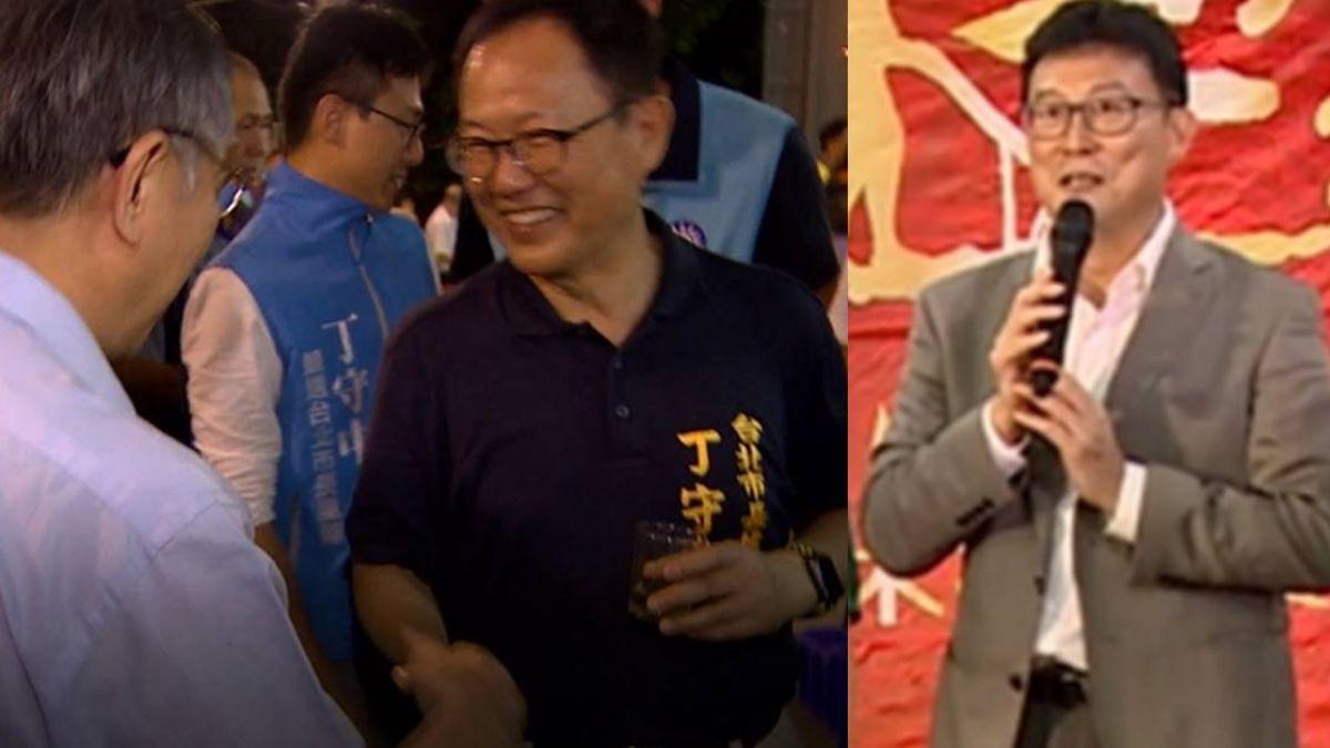 綠竹筍飄濃濃選舉味 3北市長參選人同台握手超尷尬