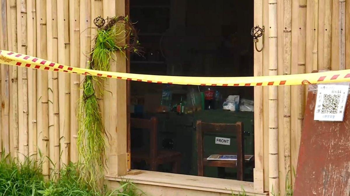 華山小木屋拆除過程 驚見「染紅木板」一度暫停