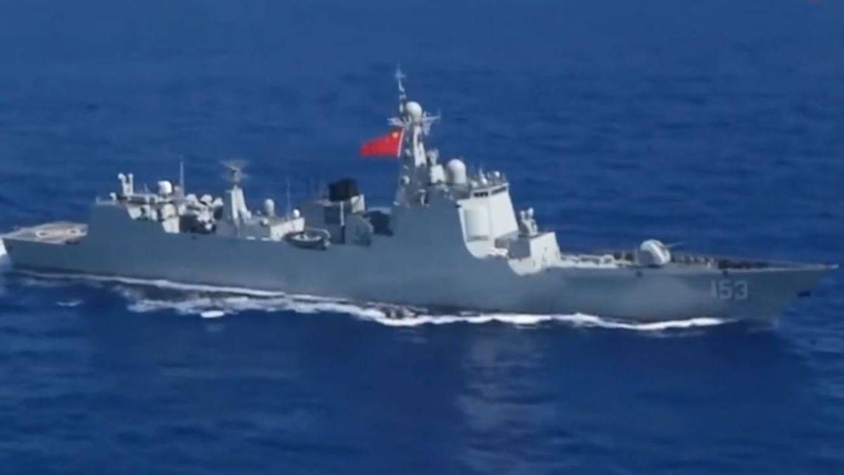 解放軍「中華神盾」繞台航訓逾一週 近台僅60海里