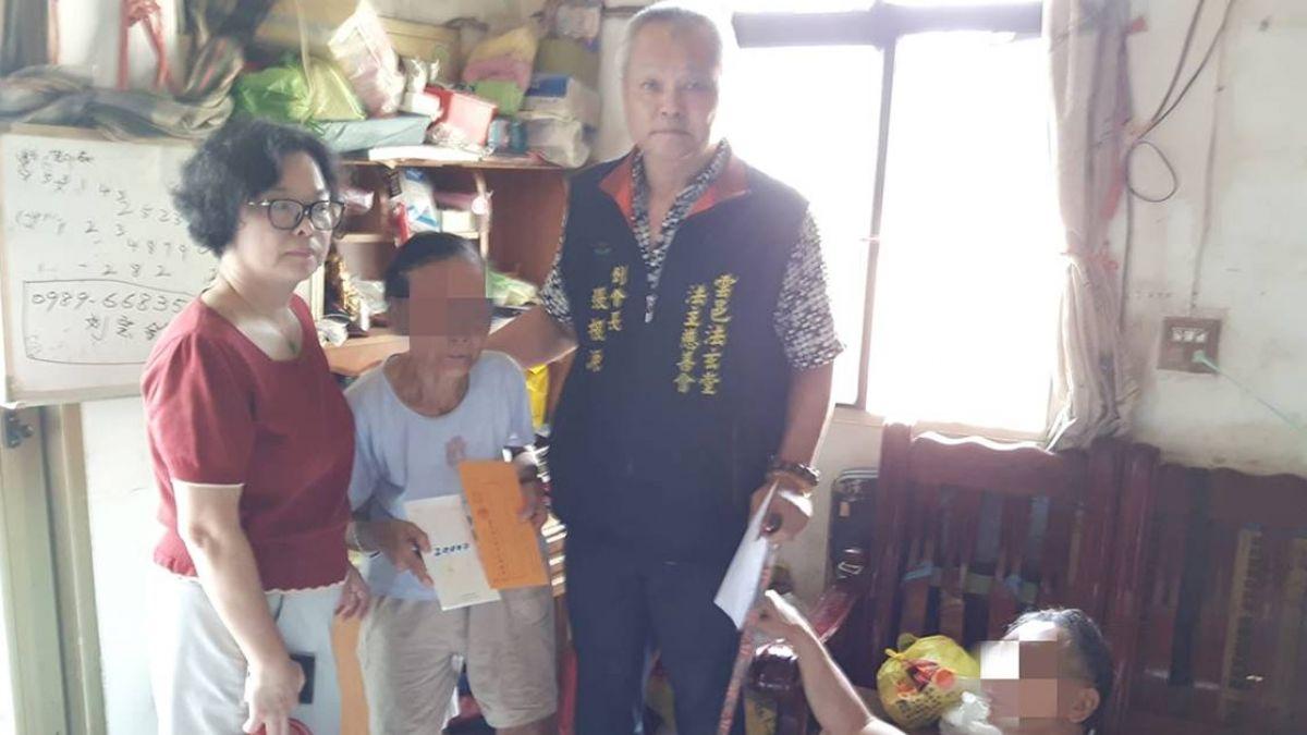 超感人!姪子中風失明 81歲嬸嬸堅持照顧:他也是心頭肉