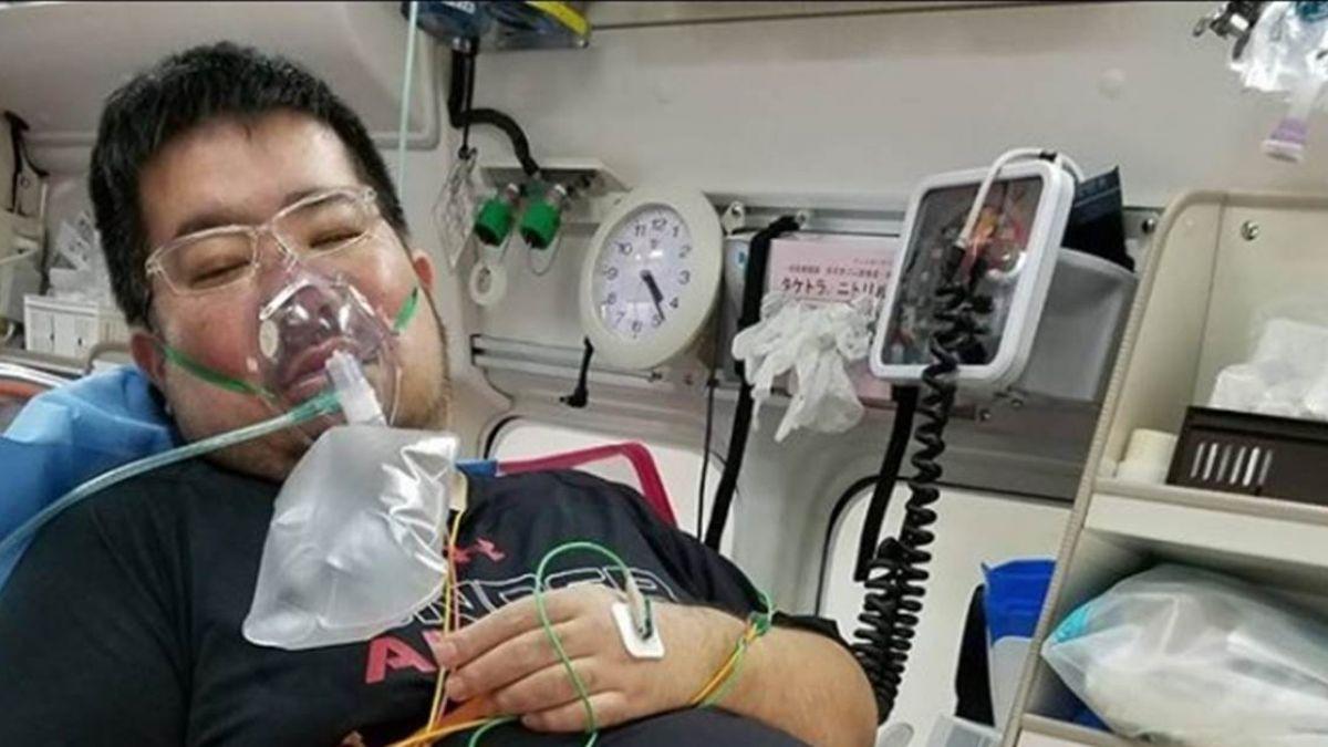 拓也哥截肢6個月呼吸困難! 驚爆緊急送醫搶救