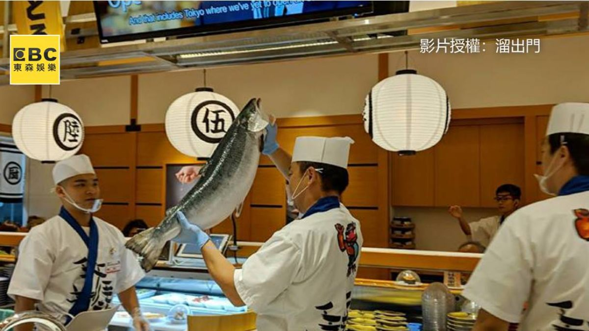 想吃舉手搶!日連鎖迴轉壽司登台 師傅秀刀工獨特叫賣秀超吸睛
