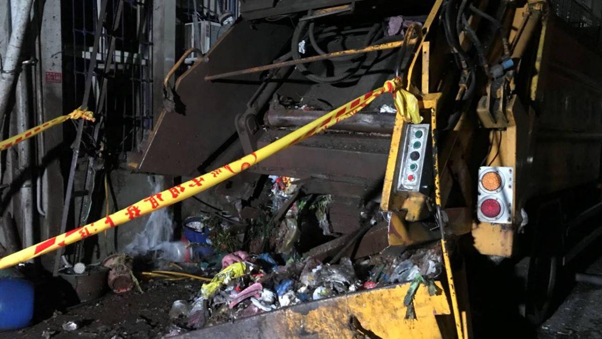 蘇澳垃圾車驚傳氣爆 震碎民宅玻璃2男1女送醫