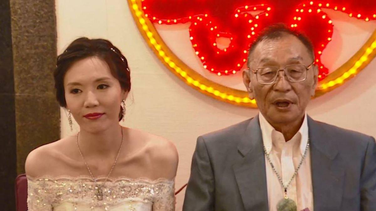 曾向呂秀蓮求婚!董念台熱戀5個月 小33歲嫩妻背景曝光