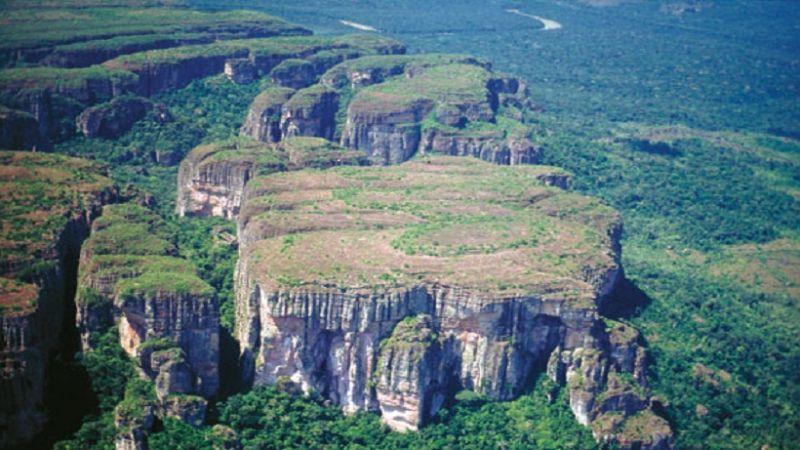哥倫比亞最大國家公園  正式列入世遺