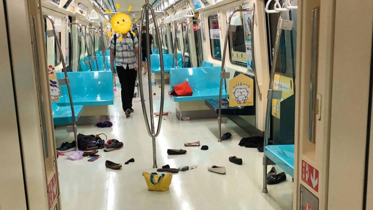 捷運車廂突尖叫…200 人爆衝!全因老鼠亂入 乘客嚇呆:以為遇恐攻