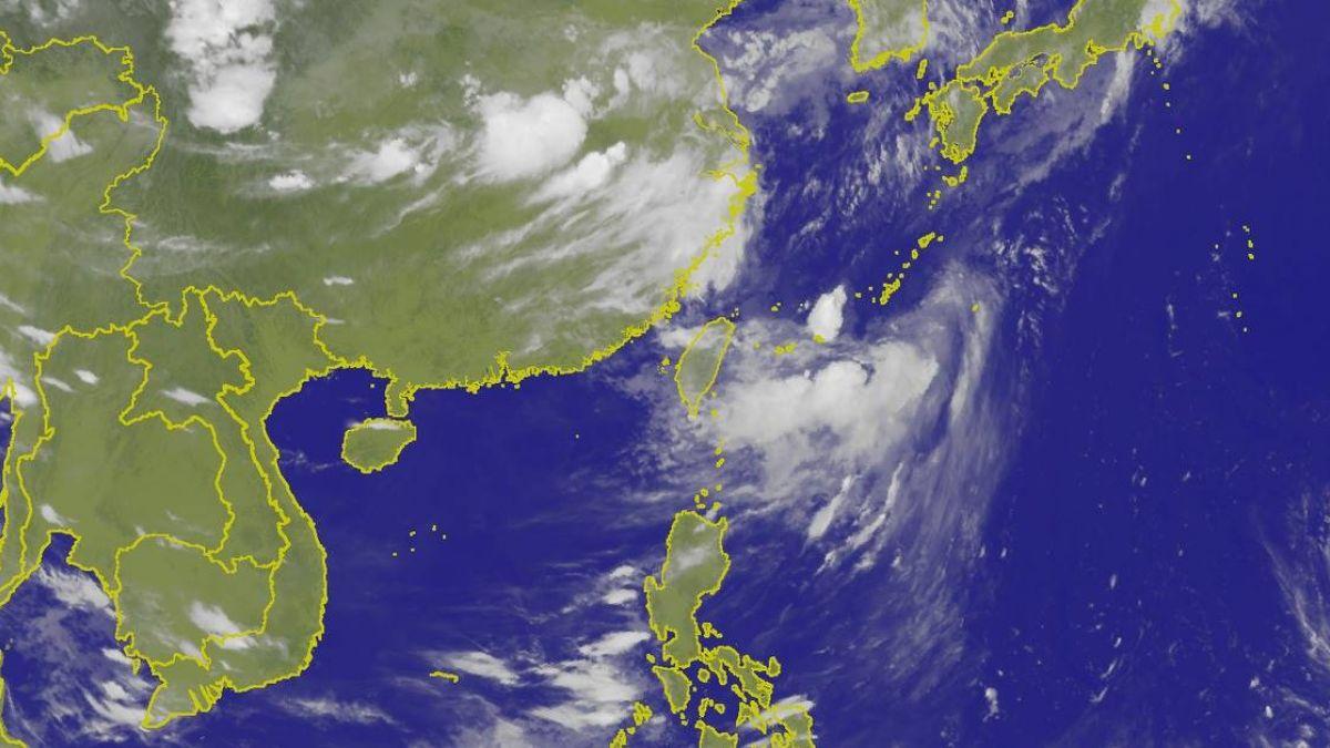 8號輕颱瑪莉亞晚間生成!朝琉球前進 影響台灣待觀察