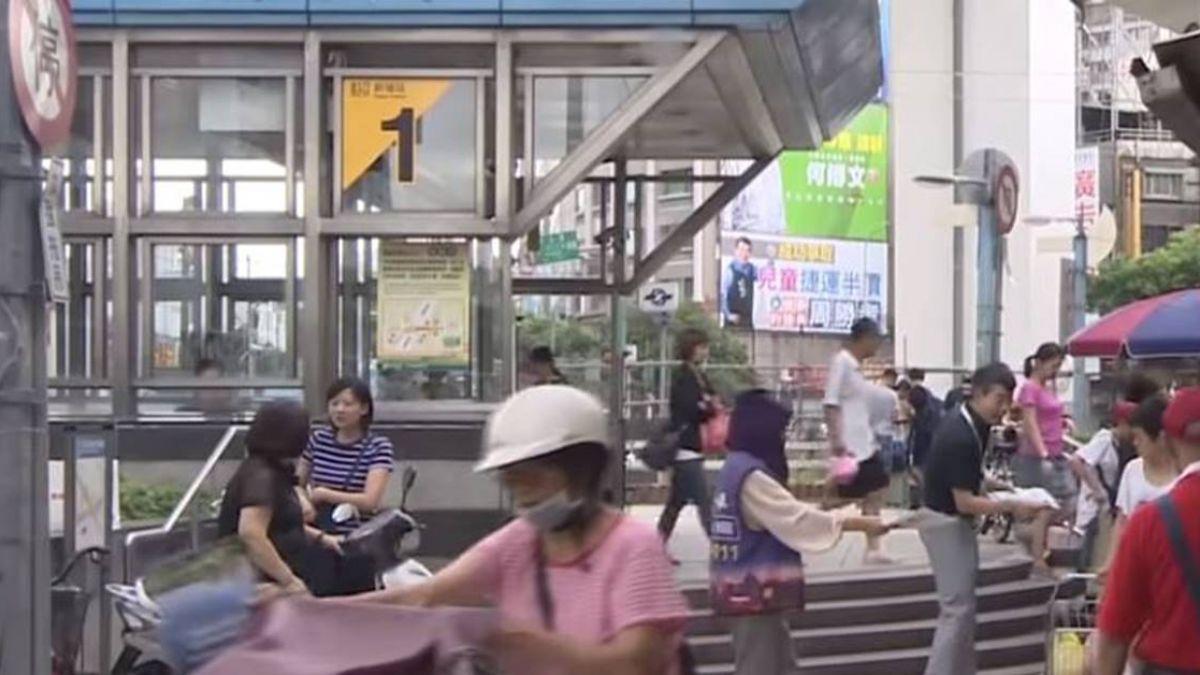 新埔捷運站現機車盜 不到2分新車遭竊