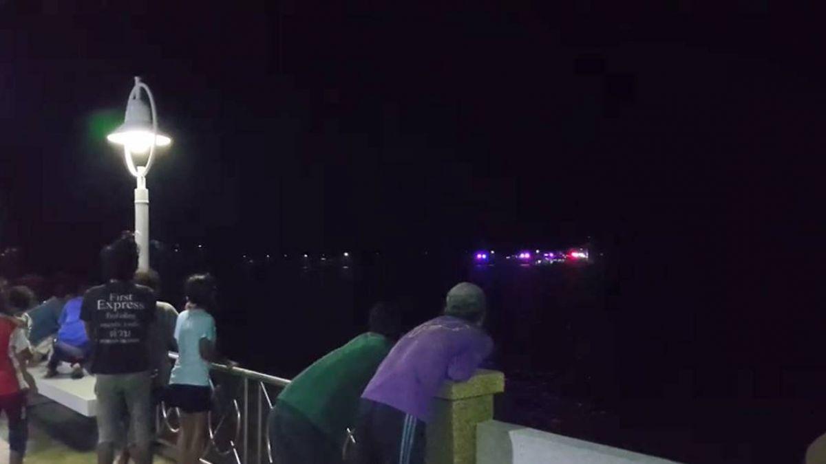 90人潛水船泰國普吉島翻覆!數十人失蹤…持續搜救中