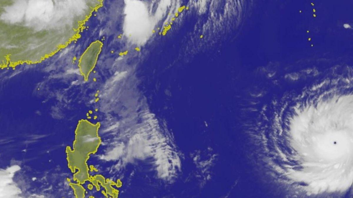 瑪莉亞變中颱續增強  對台灣影響待觀察