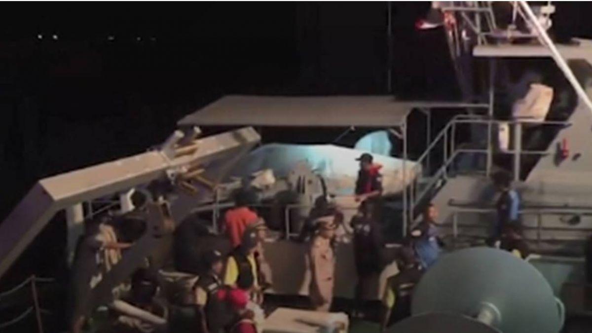 普吉島2遊艇翻覆 130名遊客落水 1死53失蹤