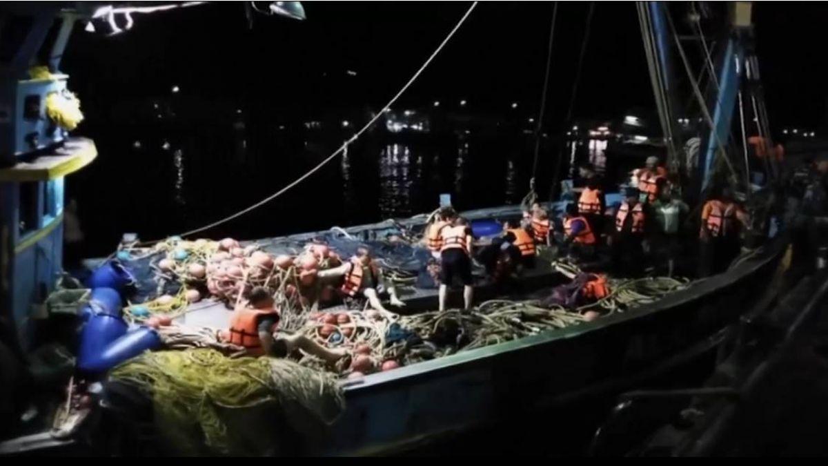 普吉兩船難1死58人失蹤  泰軍警持續搜救