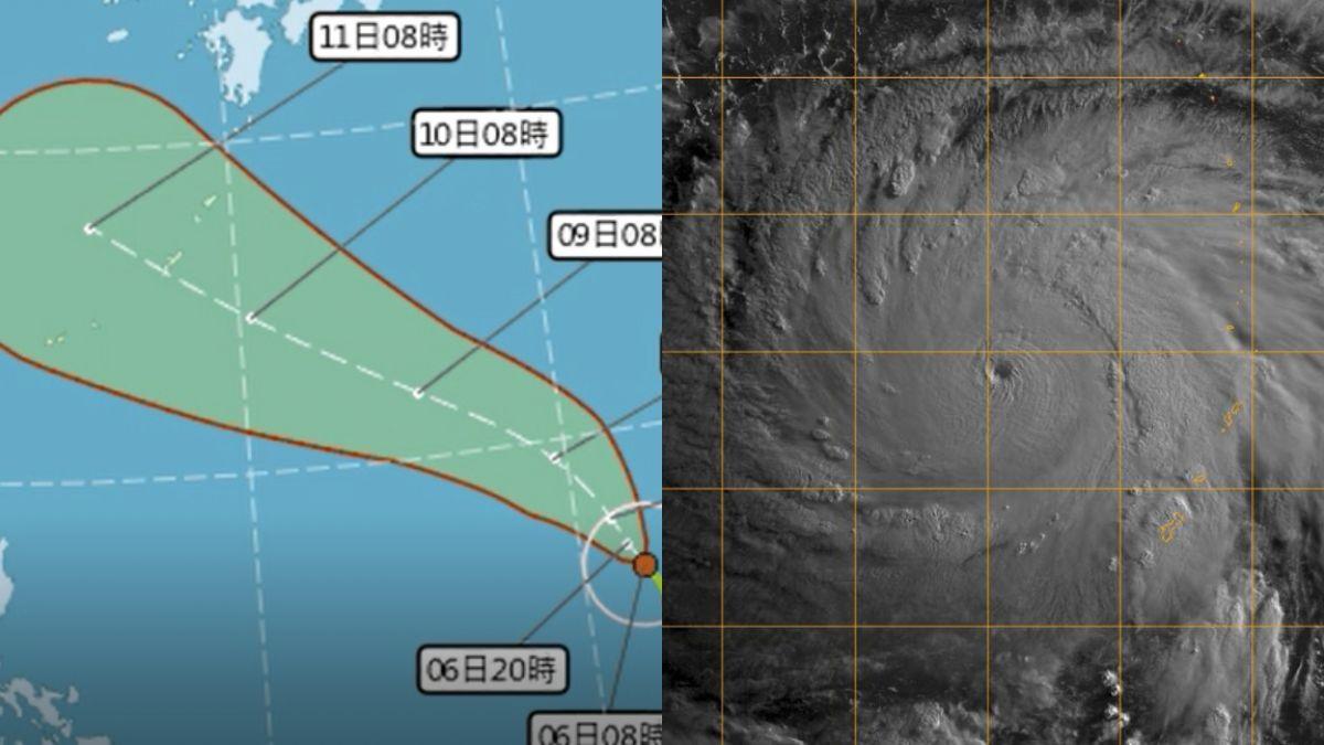 瑪莉亞颱風眼清晰!最快下午轉強颱 是否撲台…週日是關鍵