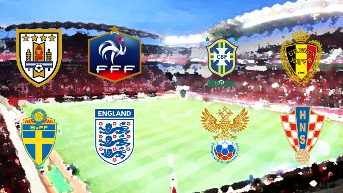 世足八強賽開打!國際賭盤看好法國、巴西