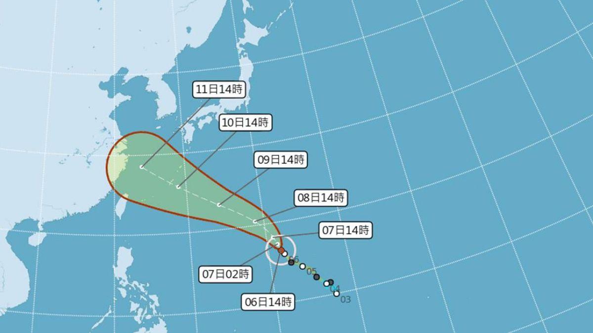 周末是關鍵!強颱瑪莉亞往琉球移動 氣象局:暫不發海警