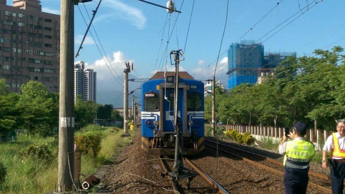 台鐵羅東電車故障 接駁150人 預計13時正常通車