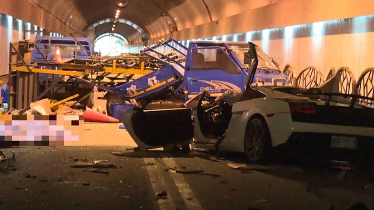 【獨】富少隧道飆速釀2死!工人還原事發經過嘆:同事回不來了…