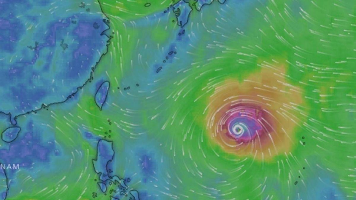 颱風路徑南修 十河局防汛整備