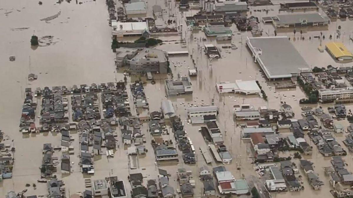 日本中西部豪雨釀64死44人失聯!氣象廳警告嚴防洪水、土石流