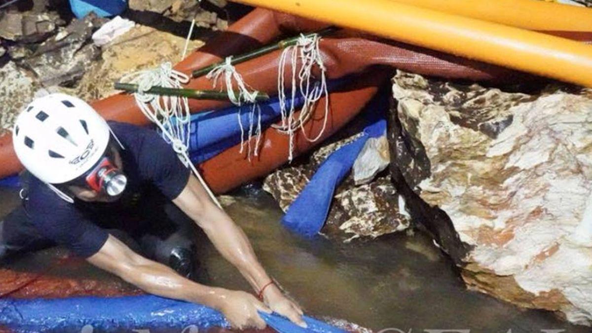泰13師生受困16天!洞穴氧氣量逐下降 水位恐再上升…