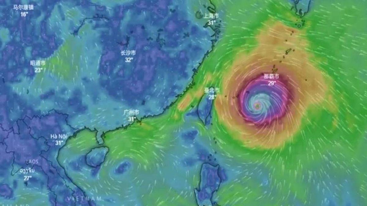 颱風瑪莉亞逼近 最快9日下午海警10日陸警