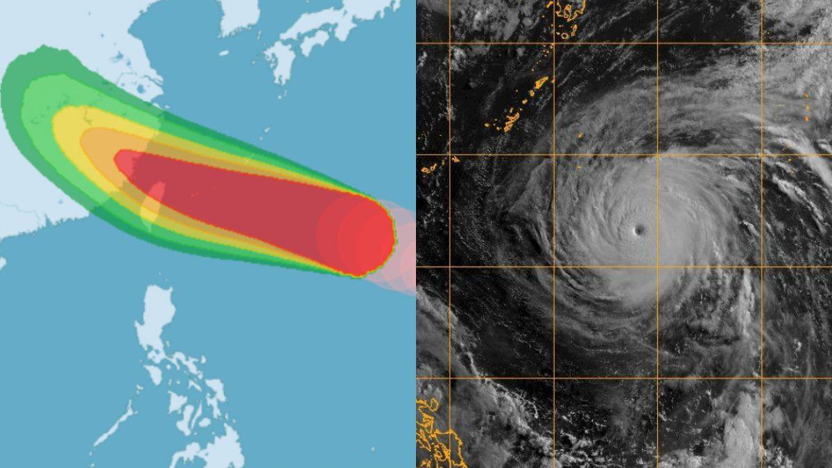 強颱瑪莉亞下午2點半發海警 明夜至周三清晨影響最劇