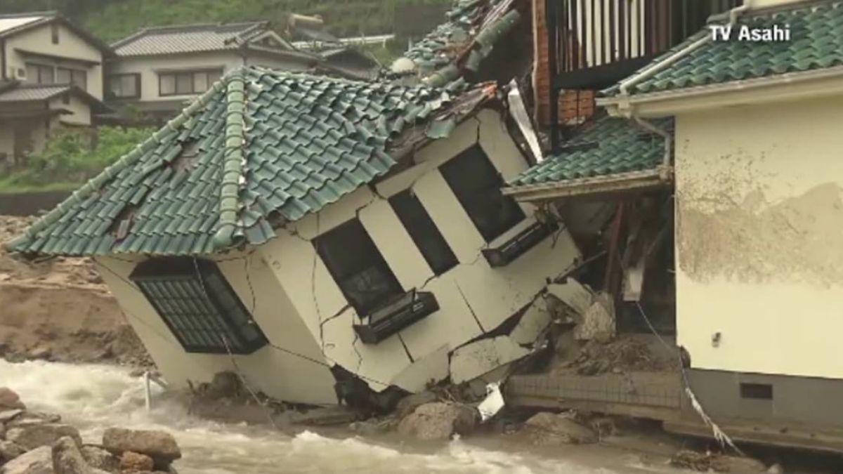 豪雨重創西日本 至少94死