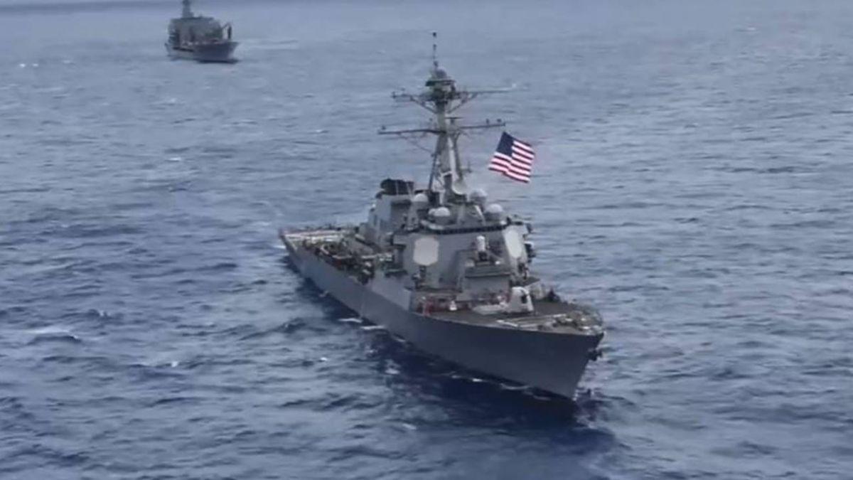 罕見!美兩驅逐艦通過台海 專家:表達挺台